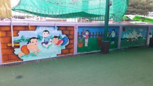 วาดภาพกำแพงโรงเรียน 190121 0005