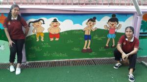วาดภาพกำแพงโรงเรียน 190121 0018