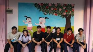 วาดภาพกำแพงโรงเรียน 190121 0019