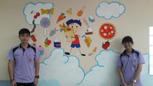 วาดภาพกำแพงโรงเรียน 190121 0022