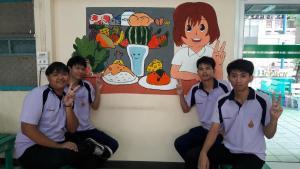 วาดภาพกำแพงโรงเรียน 190121 0035