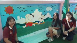 วาดภาพกำแพงโรงเรียน 190121 0039
