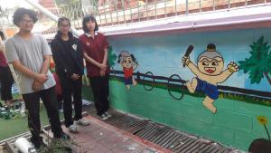 วาดภาพกำแพงโรงเรียน 190121 0041