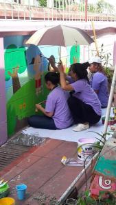 วาดภาพกำแพงโรงเรียน 190121 0062