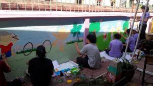 วาดภาพกำแพงโรงเรียน 190121 0069
