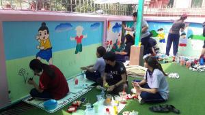 วาดภาพกำแพงโรงเรียน 190121 0079