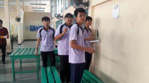 วาดภาพกำแพงโรงเรียน 190121 0094