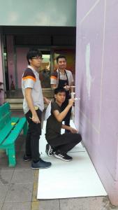 วาดภาพกำแพงโรงเรียน 190121 0096